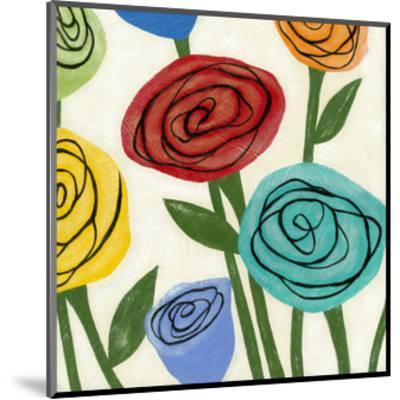 Pop Roses I-Megan Meagher-Mounted Art Print