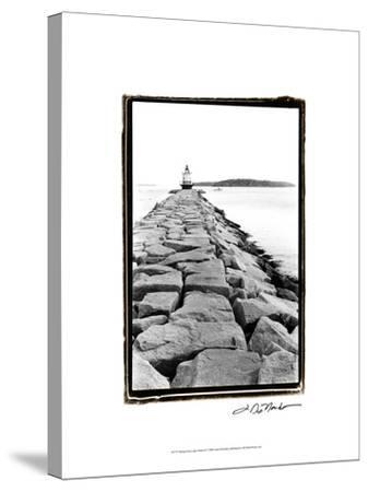 Spring Point Light, Maine II-Laura Denardo-Stretched Canvas Print