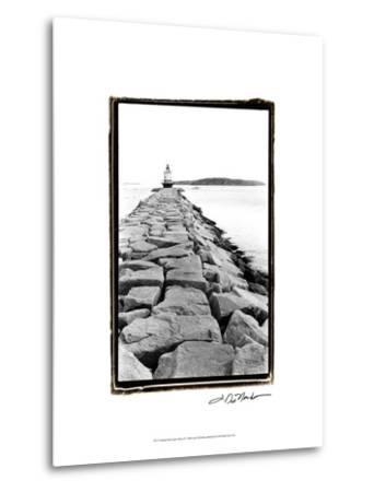 Spring Point Light, Maine II-Laura Denardo-Metal Print