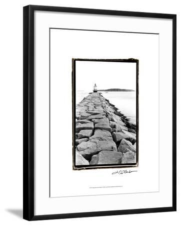 Spring Point Light, Maine II-Laura Denardo-Framed Art Print