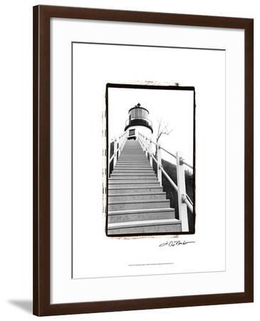 Owl's Head Light, Maine-Laura Denardo-Framed Art Print