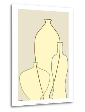 Linear Vessels II-Vanna Lam-Metal Print