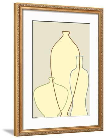 Linear Vessels II-Vanna Lam-Framed Art Print