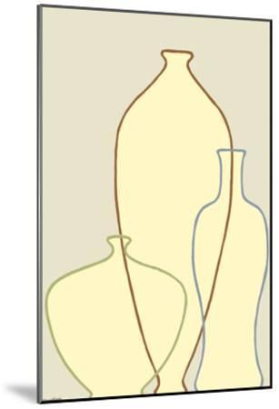 Linear Vessels II-Vanna Lam-Mounted Art Print