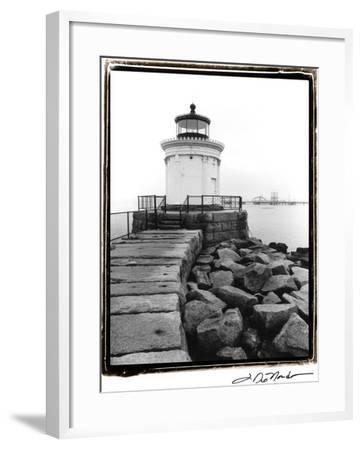 Bug Light, Portland-Laura Denardo-Framed Art Print