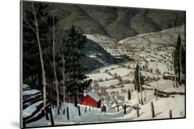 Winter-Walter King Stone-Mounted Art Print