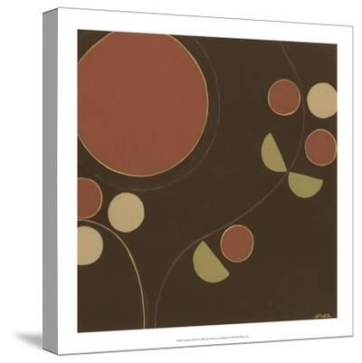 Autumn Orbit II-Erica J^ Vess-Stretched Canvas Print