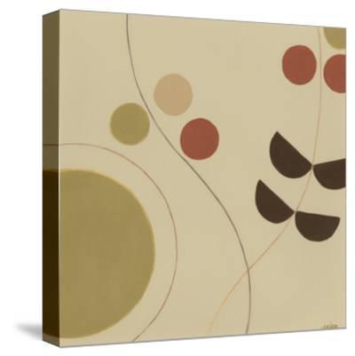Autumn Orbit III-Erica J^ Vess-Stretched Canvas Print
