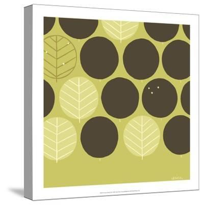 Forest Motif III-Erica J^ Vess-Stretched Canvas Print