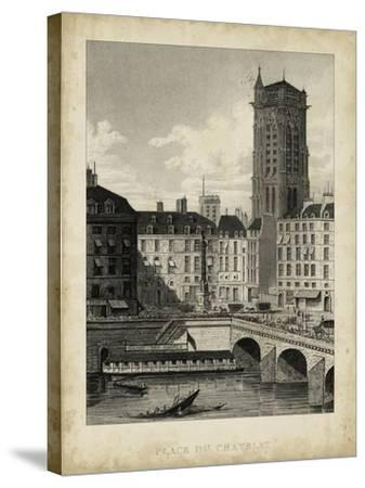 Place du Chatelet-A^ Pugin-Stretched Canvas Print