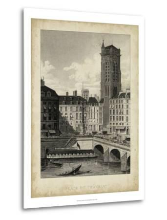 Place du Chatelet-A^ Pugin-Metal Print