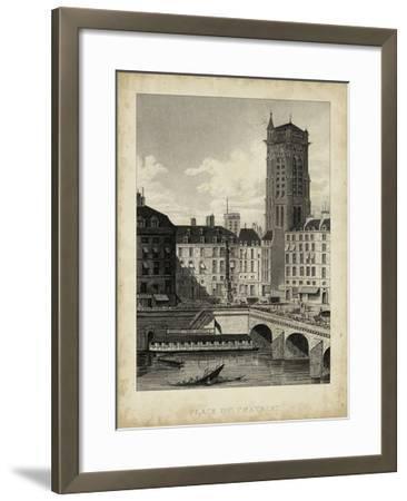 Place du Chatelet-A^ Pugin-Framed Art Print