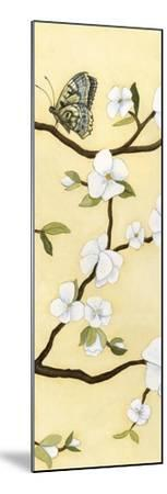 Eastern Blossom Triptych III-Megan Meagher-Mounted Art Print