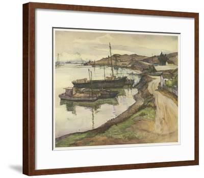 European Sketchbook II-Rowena Meeks Abdy-Framed Art Print