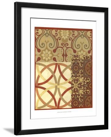 Pattern Collage II-Megan Meagher-Framed Art Print