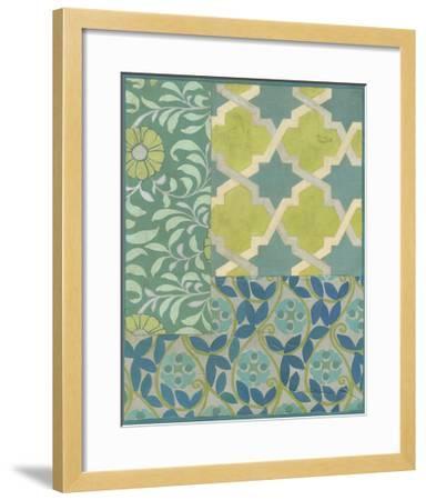 Pattern Collage III-Megan Meagher-Framed Art Print