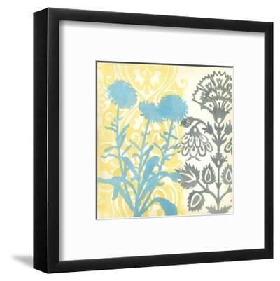 Floral Triad I-Megan Meagher-Framed Art Print