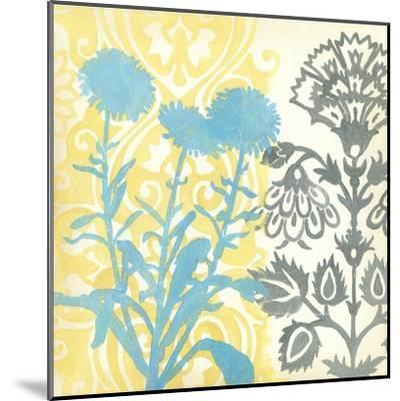 Floral Triad I-Megan Meagher-Mounted Art Print