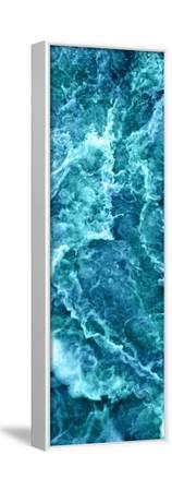 Sea Spray III--Framed Stretched Canvas Print