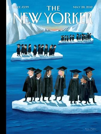 The New Yorker Cover - May 28, 2012-Mark Ulriksen-Stretched Canvas Print