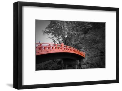Nikko Red Bridge-NaxArt-Framed Art Print
