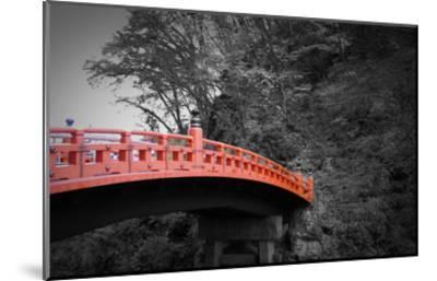 Nikko Red Bridge-NaxArt-Mounted Art Print