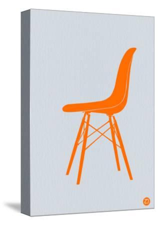 Orange Eames Chair-NaxArt-Stretched Canvas Print