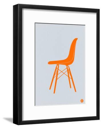 Orange Eames Chair-NaxArt-Framed Art Print