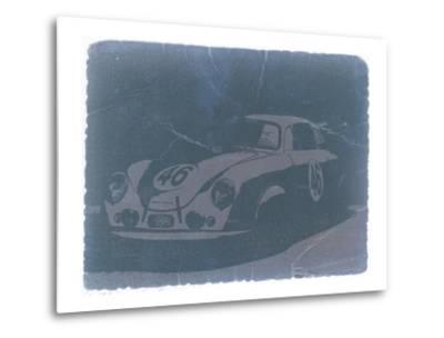 Porsche 356 Coupe Front-NaxArt-Metal Print