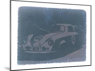 Porsche 356 Coupe Front-NaxArt-Mounted Art Print