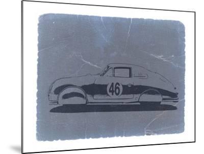 Porsche 356 Coupe-NaxArt-Mounted Art Print
