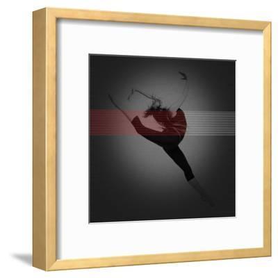 Dancer-NaxArt-Framed Art Print