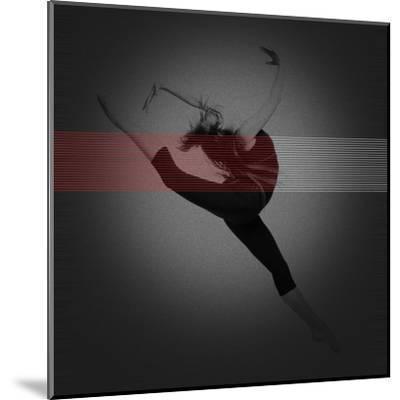 Dancer-NaxArt-Mounted Art Print