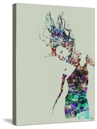 Dancer Watercolor 2-NaxArt-Stretched Canvas Print
