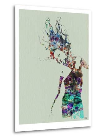 Dancer Watercolor 2-NaxArt-Metal Print