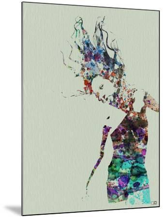 Dancer Watercolor 2-NaxArt-Mounted Art Print