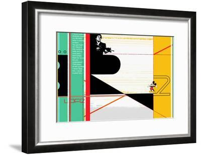Scarface-NaxArt-Framed Art Print