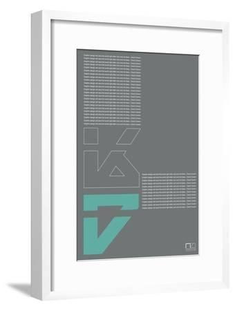 David Carson Poster-NaxArt-Framed Art Print