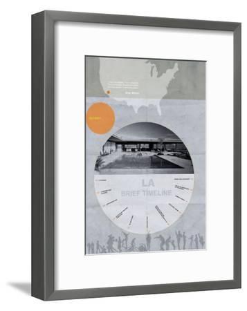 La Poster-NaxArt-Framed Art Print