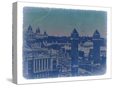 Barcelona-NaxArt-Stretched Canvas Print