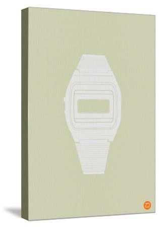 White Electronic Watch-NaxArt-Stretched Canvas Print