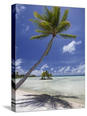 Manihi Pearl Beach Resort-Aaron Huey-Stretched Canvas Print