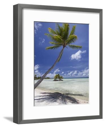 Manihi Pearl Beach Resort-Aaron Huey-Framed Photographic Print