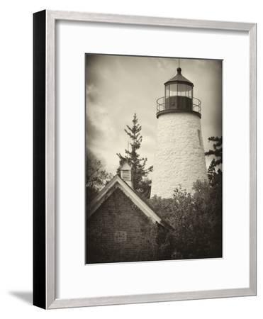 The Dice Head Lighthouse in Maine-Robbie George-Framed Photographic Print