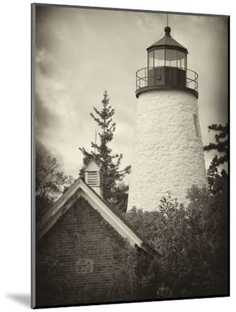 The Dice Head Lighthouse in Maine-Robbie George-Mounted Photographic Print