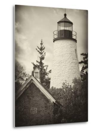 The Dice Head Lighthouse in Maine-Robbie George-Metal Print