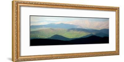 Early Morning Light on the Blue Ridge Mountains-Amy & Al White & Petteway-Framed Photographic Print