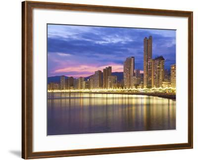Benidorm, Alicante Province, Spain, Mediterranean, Europe-Billy Stock-Framed Photographic Print