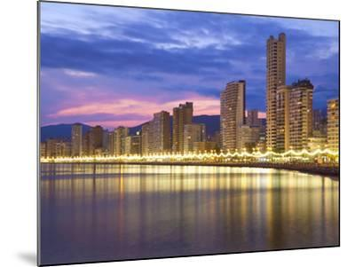 Benidorm, Alicante Province, Spain, Mediterranean, Europe-Billy Stock-Mounted Photographic Print