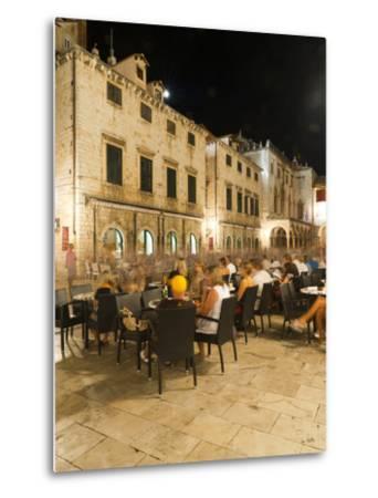 Nightlife, Dubrovnik, Dubrovnik-Neretva County, Croatia, Europe-Emanuele Ciccomartino-Metal Print